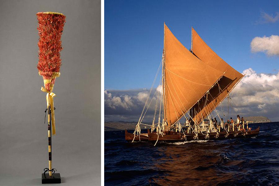 Kahili—Canoe