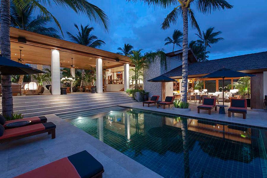 Pahor residence on the island of Hawaii