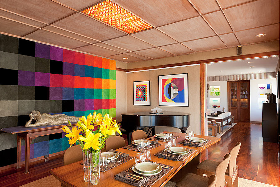 Private residence dining room,  Richard Reese Design