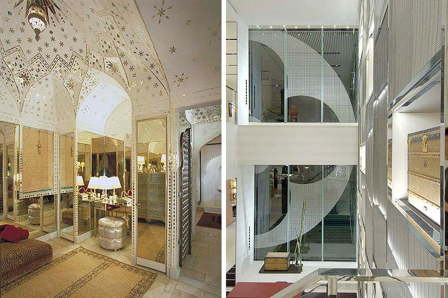 Shangri-La dressing room, and Louis Vuitton Honolulu