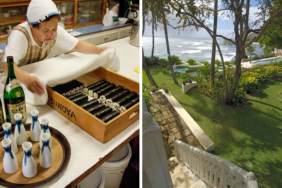 Japanese Tea House—Shangri-La garden