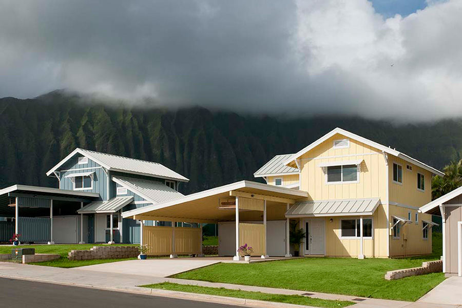 LEED housing in Waimanalo