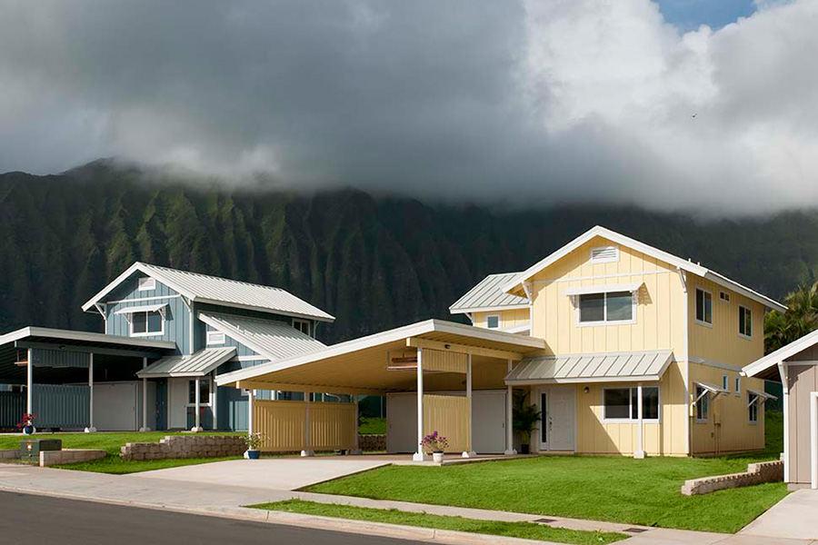 LEED housing in Waimanalo
