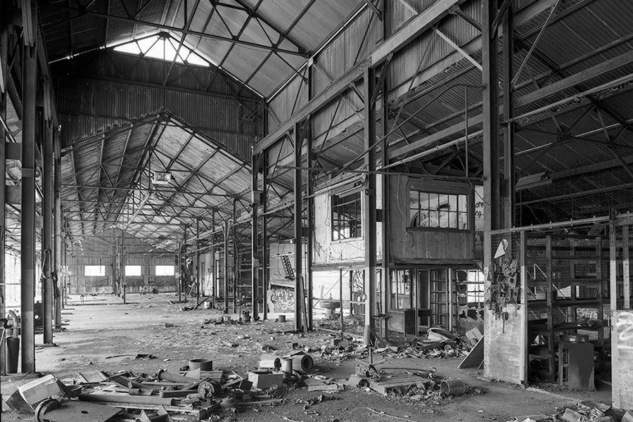 Kekaha Sugar Mill warehouse