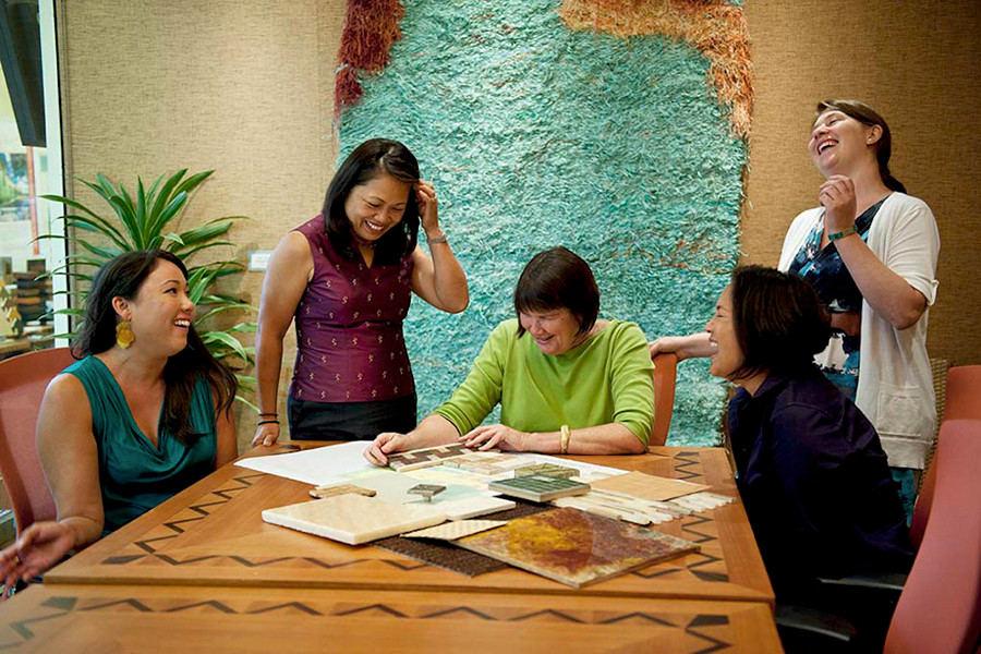 Interior design meeting