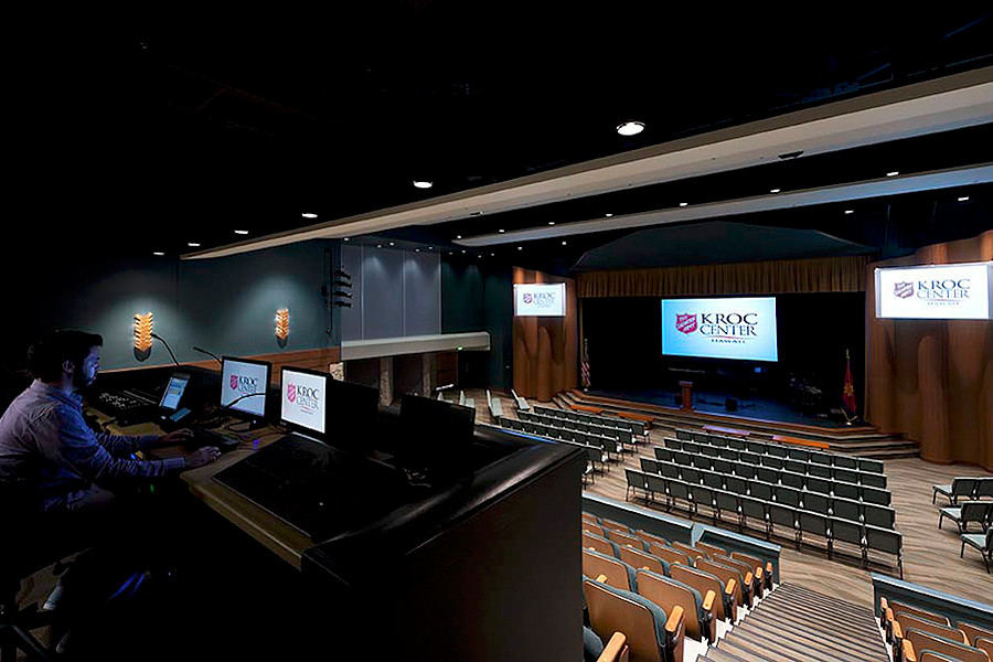 Kroc Center Auditorium in Kapolei, O'ahu